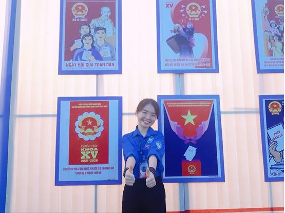 Bùi Thị Thủy, sinh viên lớp MA13A2NĐ – Một Bí thư chi Đoàn năng động nhiệt huyết trong công tác Đoàn và phong trào thanh niên